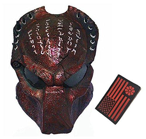 Eternal Heart WT606 Wire Mesh Alien Vs Predator AVP Wolf Full Face Protection Mask ()