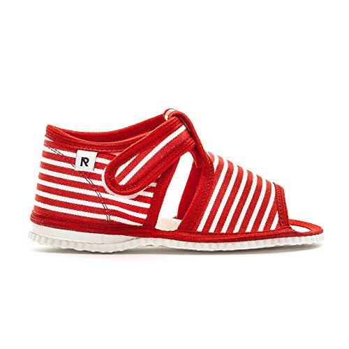 RAK Velcro Adesivo ZANA Rosso Pantofole
