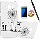 S7 Edge Case,Samsung Galaxy S7 Edge Case - Badalink Ultra-thin Slim Fit Colorful Print Pattern Hard PC Cover with...