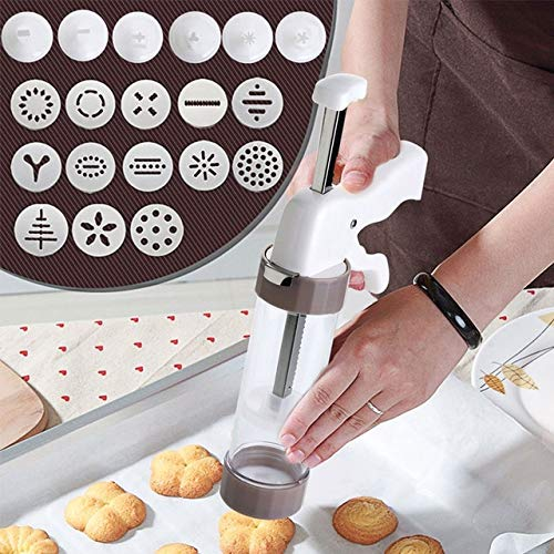 Cookie Press Kit - Cookie Press Making Gun Biscuits Cake Mold Cookie Press Maker Machine Dessert Decoration by PerfectPrice (Image #6)