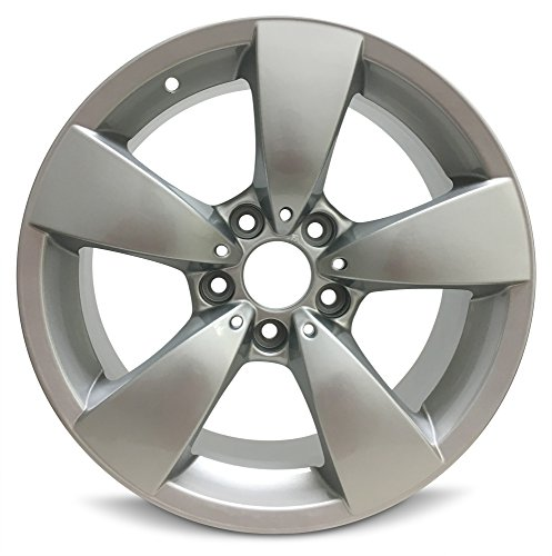 Road Ready Car Wheel For 2004-2007 BMW 525i BMW 530i 2006-2010 BMW 528i BMW 550i 2008-2010 BMW 535i 17 Inch 5 Lug Gray Aluminum Rim Fits R17 Tire - Exact OEM Replacement - Full-Size Spare