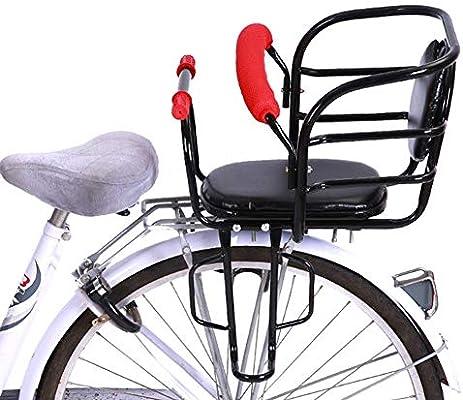 JTYX Sillas de Bicicletas para niños Asiento de Bicicleta Trasero ...