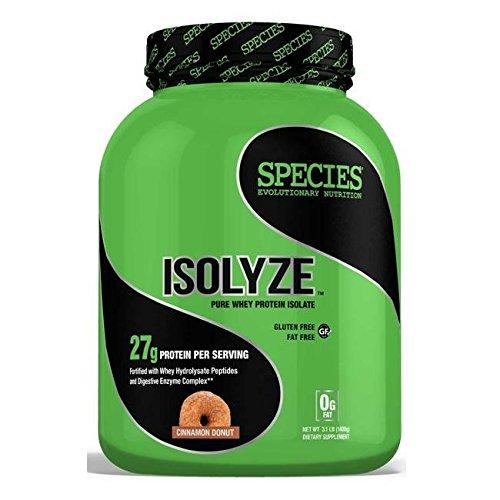 Amazon.com: Species Nutrition Isolyze Cinnamon Donut Supplement, 3.1 Pound: Health & Personal Care