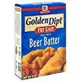 Golden Dipt Mix Batter Beer 10 Oz Pack of 3