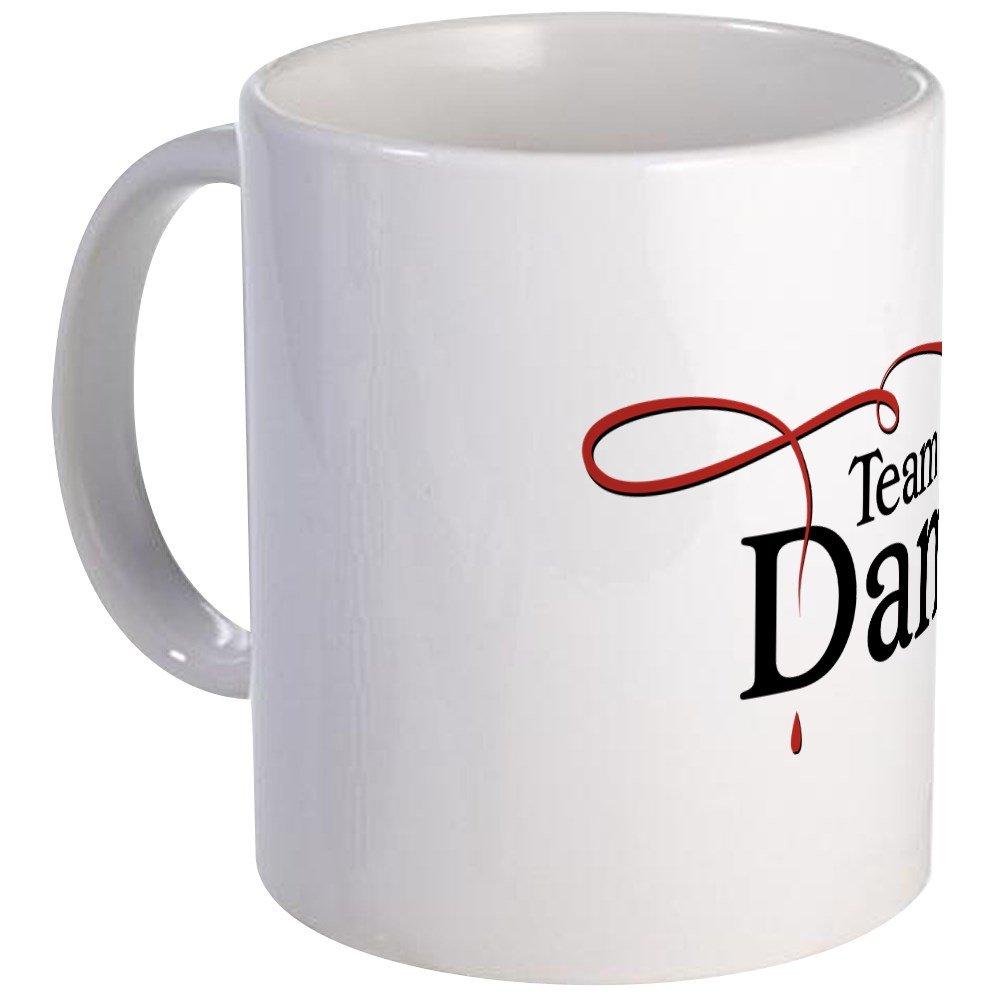 CafePress Vampire Diaries Team Damon Mug Unique Coffee Mug, Coffee Cup
