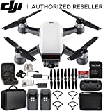 DJI Spark Portable Mini Drone Quadcopter Fly More Combo Portable Bag Shoulder Travel Case Bundle (Alpine White) For Sale