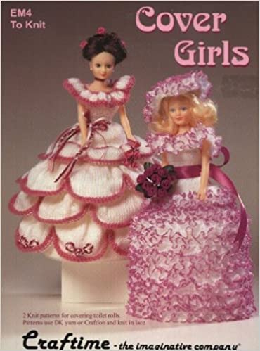 Cover Girls Craftime Knitting Pattern Em4 Dolls Clothes Or
