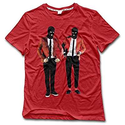 NDZZZ Customized Creativity Twenty-One-Pilots Cotton T-Shirt For Riding Small Red