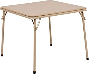 Flash Furniture Kids Tan Folding Table