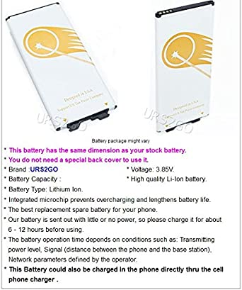 Battery for Tracfone LG G5 RS988 Smartphone High Capacity 3650mAh Extended Slim Rechargeable A