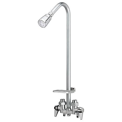 Homewerks 3070-250-CH-BWS Outdoor Shower Kit, Chrome, 1