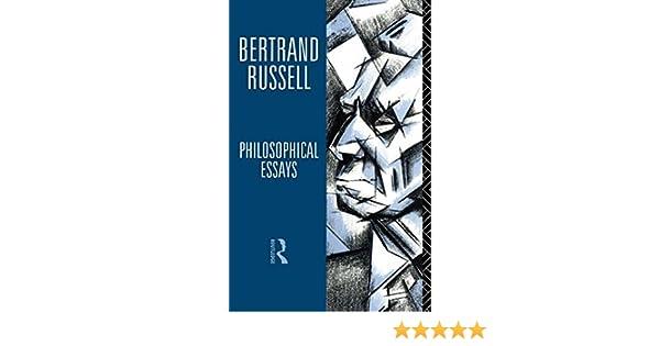 amazon com philosophical essays bertrand russell  amazon com philosophical essays 9780415105798 bertrand russell books