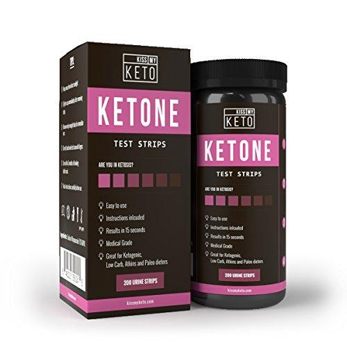 Kiss My Keto 200 Ketone Strips, Urine Test Sticks …