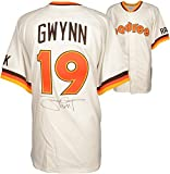 """Tony Gwynn San Diego Padres Autographed Mitchell & Ness Jersey with """"3141"""" Inscription () - PSA/DNA Certified"""