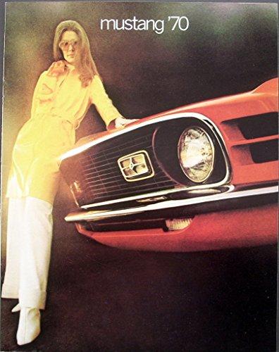 1970 Ford Mustang Dealer Sales Brochure Mach 1 Boss 302 Grande (Ford Mustang Boss 302 For Sale 1970)