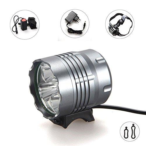TFCFL® 5 LED Fahrradscheinwerfer Frontscheinwerfer superhelle LEDs Super Leuchtweite Frontstrahler Frontlichter
