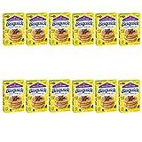 Betty Crocker Bisquick Baking Mix, Gluten Free Pancake and Waffle Mix, 16 oz Box (Pack of 12)