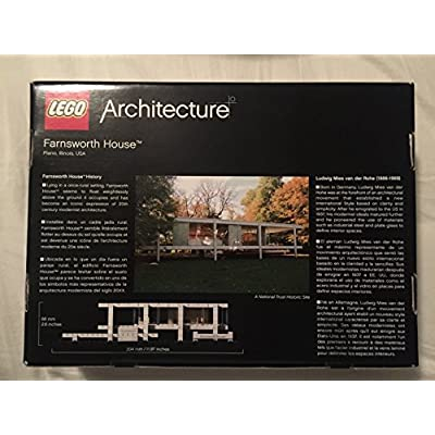 LEGO Architecture Farnsworth House 21009: Toys & Games