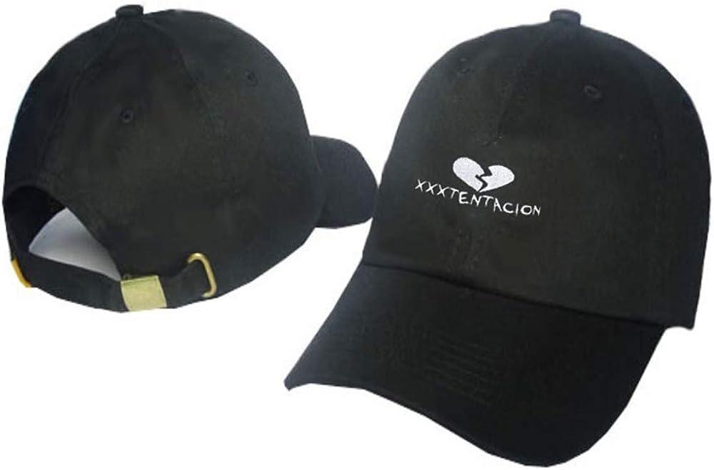 Kerlana XXXTentacion Berretti in maglia Berretto da baseball traspirante Polo stile classico sportivo casual Plain cappello da sole Outdoor Sport cappello da sole Unisex