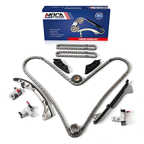 MOCA Timing Chain Kit Compatible with 2006-2013 Lexus IS250 GS350 ES350 & 05-11 Toyota Camry Highlander 3.5L 3.0L 2.5L V6 DOHC 2GRFE 2GRFSE