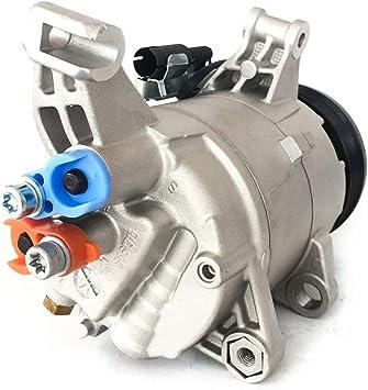 AC Compressor TBVECHI AC A//C Compressor Air Conditioner Compressor W//Clutch Fit for Mini Cooper 2002-2006 2003 2004 L4 1.6L 97275