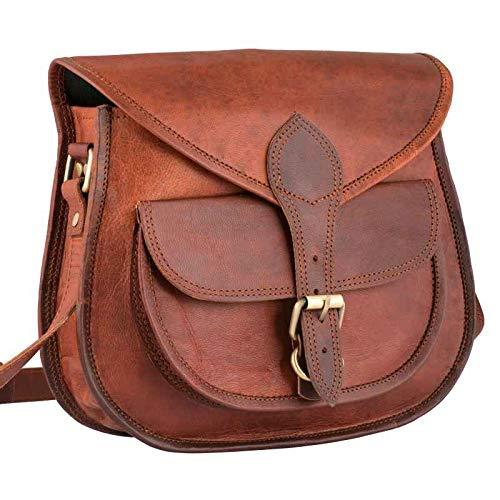 4569d886e59c Vintage Leather Cross Body Shoulder Bag Handcrafted Leather Bag