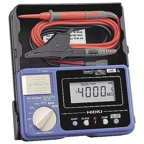 Review Hioki IR4056-20 Multimeter Insulation