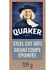 QUAKER Quick Cook Steel Cut Oats, 709 g