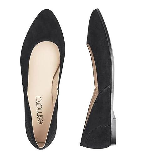 Esmara , Damen Ballerinas, schwarz schwarz Größe: 37.5