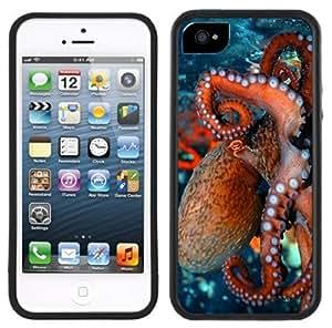 LJF phone case Octopus Handmade iphone 6 plus 5.5 inch Black Case