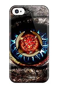 Belva R. Fredette's Shop 8452968K74976286 Iphone 4/4s Hybrid Tpu Case Cover Silicon Bumper Eye
