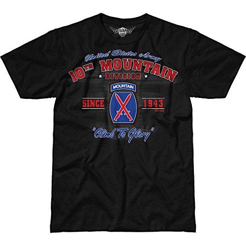 7.62 Design Army 10th Mountain Division 'Vintage' Men's Battlespace T-Shirt 2X