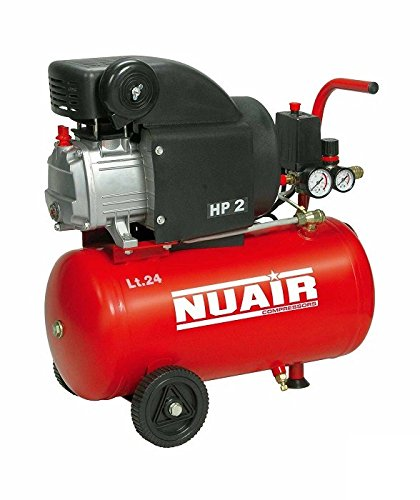 COMPRESOR NUAIR RED LINE 2 HP / 50 LTS