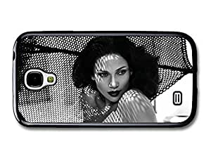 AMAF ? Accessories Jennifer Lopez Black and White Fifties Portraits on the Beach case for Samsung Galaxy S4