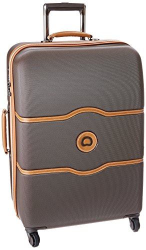 delsey-luggage-chatelet-24-inch-spinner-trolley-brown-one-size
