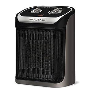 Rowenta Silent Comfort Compact Heater SO9260 Ceramic 1500-Watt, Black
