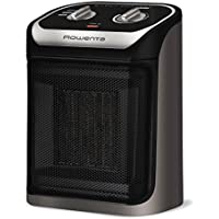 Rowenta SO9260 Silent Comfort Electronic Compact Heater Ceramic, 210-Square Ft, Black