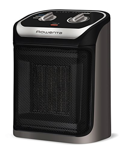 Rowenta Silent Comfort Compact Heater SO9260 Ceramic 1500-Watt, Black Groupe SEB