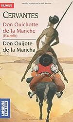 Don Quichotte de la Manche : Edition bilingue français-espagnol, extraits
