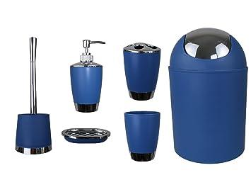 Jeu de 6 accessoires de salle de bain Dont distributeur de savon ...