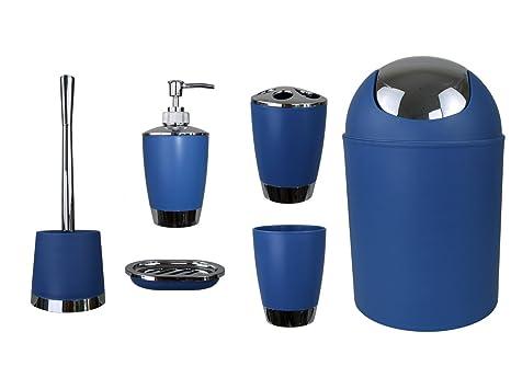 Accessori Da Bagno Con Ventosa : Gmmh set di accessori da bagno con dispenser per sapone