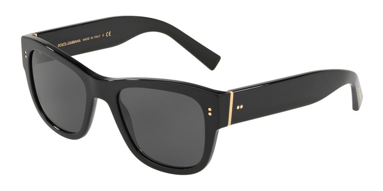 5be0b20c9e9e Amazon.com  Sunglasses Dolce   Gabbana DG 4338 F 501 87 BLACK  Clothing