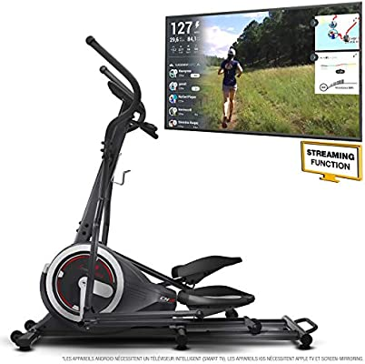 Sportstech bicicleta elíptica estática CX640 Compatible aplicación ...