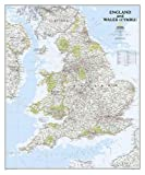 England and Wales Classic, laminated : Wall Maps Countries & Regions (Reference - Countries & Regions)