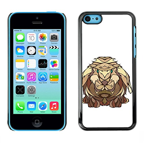 Omega Case PC Polycarbonate Cas Coque Drapeau - Apple iPhone 5C ( The Viking Rabbit )