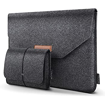 Amazon.com: AmazonBasics 13 Inch Felt Macbook Laptop Sleeve ...