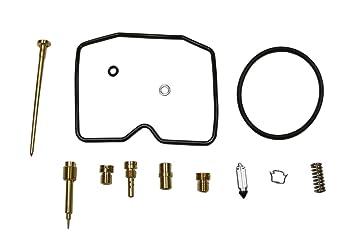 amazon com factory spec at 07418 carb repair kit kawasaki factory spec at 07418 carb repair kit kawasaki prairie 300