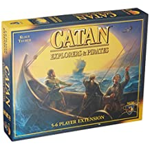 Settlers of Catan: Explorers and Pirates Game Expansion [5-6 Player]