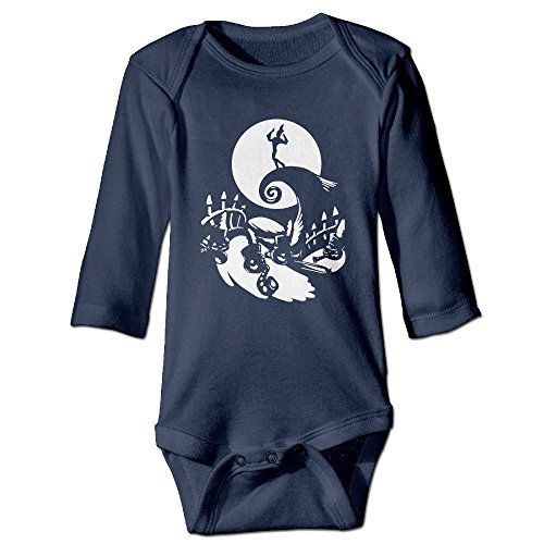 Kid's Jack Skellington Nightmare Before Christmas 3 NeutralSuit Baby Onesie -
