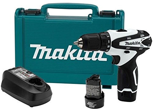 Makita Cordless Driver Drill Kit 12-Volt Max Lithium-Ion 1300 RPM 3/8 In. FD02W .#GH45843 3468-T34562FD537444 by Nessagro